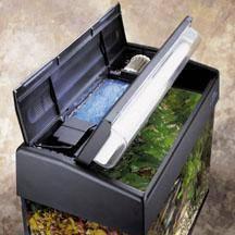 Фильтр в крышку аквариума своими руками