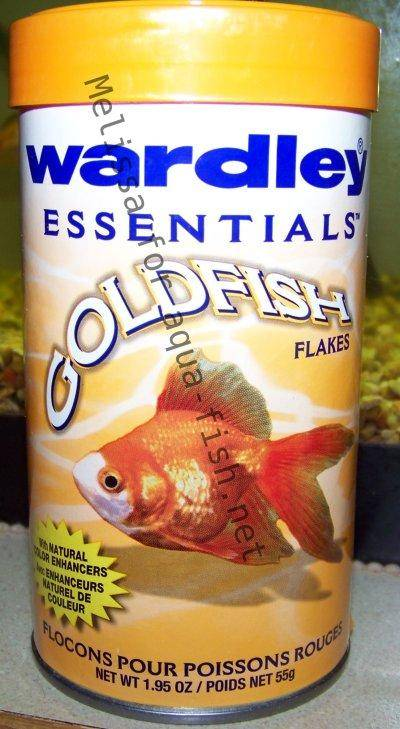 Wardley goldfish flakes