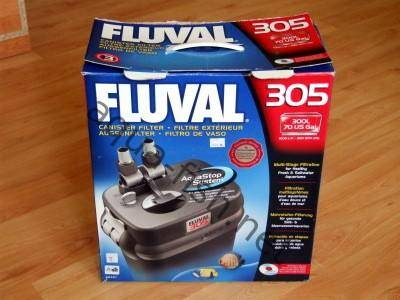 Fluval 305 external aquarium filter, picture 1