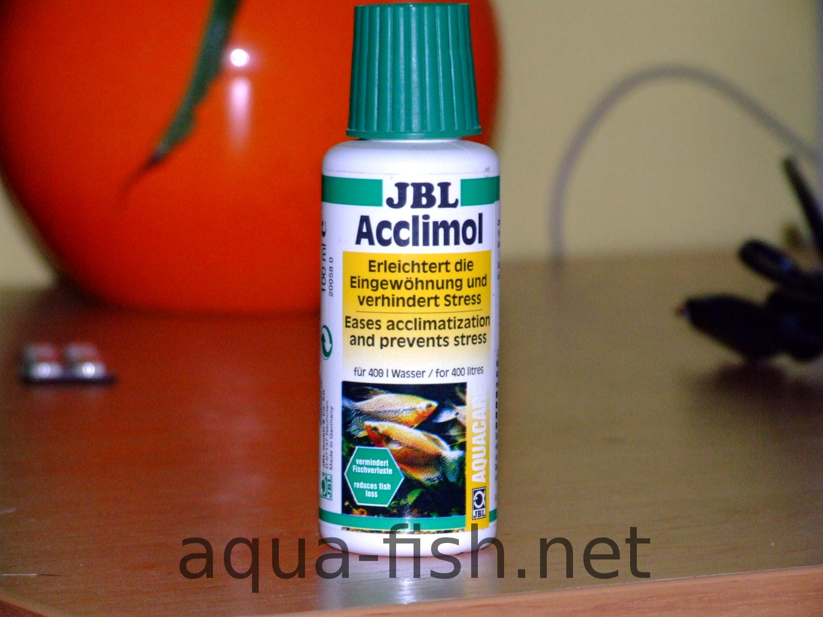 JBL Acclimol, aquarium fish medication - resized image