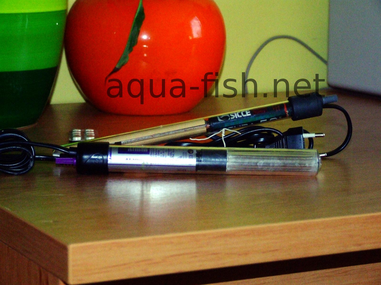 aqua one heater 25w instructions
