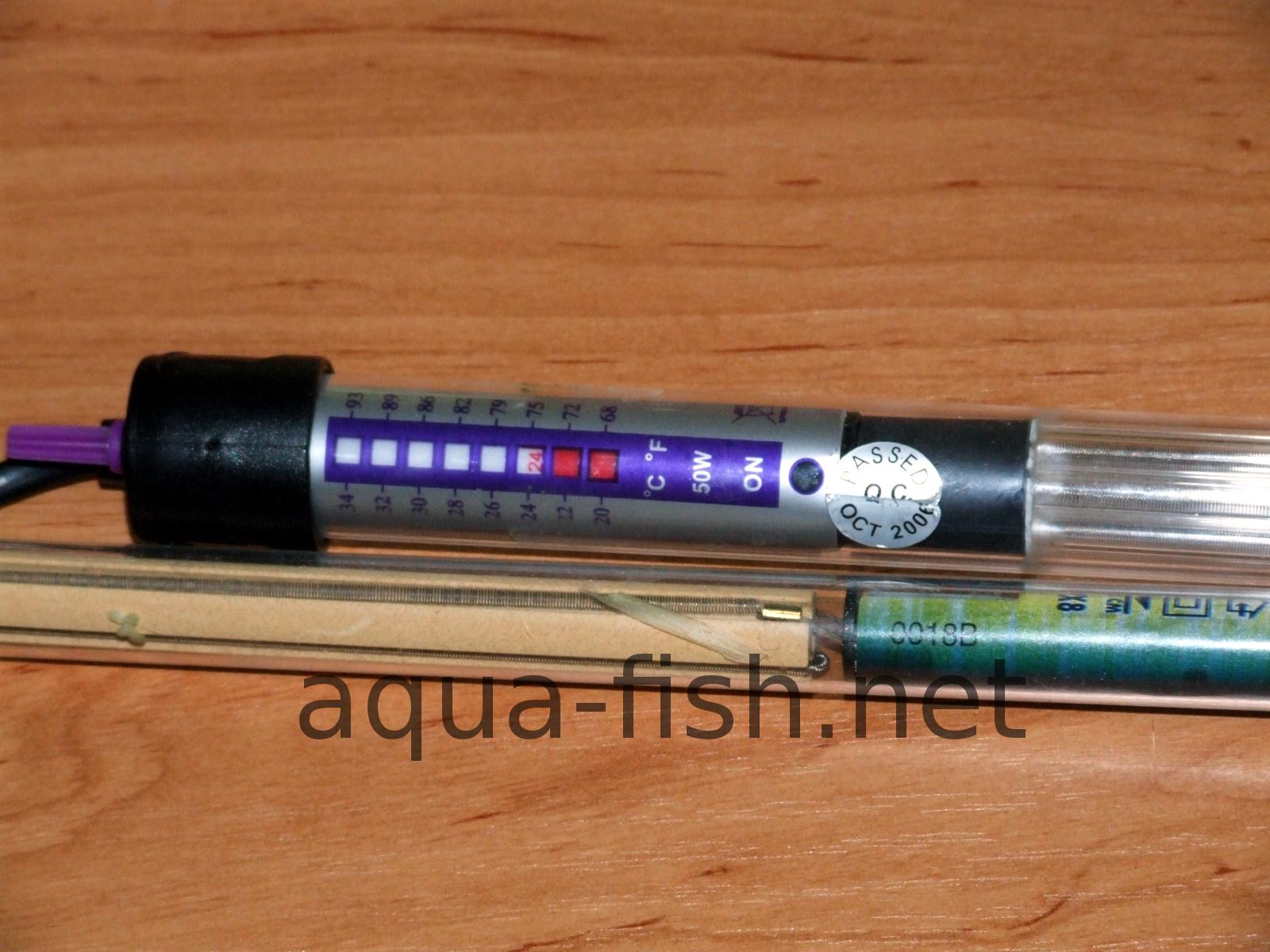 Aquarium fish tank instructions -  Submersible Aquarium Heaters Image 4 Resized